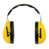 Protectores auditivos copa alta atenuación.